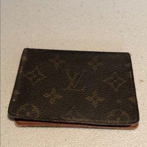 Louis Vuitton Monogram Card Holder # 65